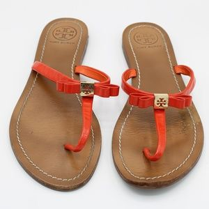 Tory Burch Leighanne Bow Thong Sandal Flip Flop